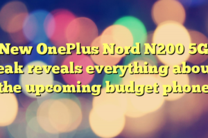 New OnePlus Nord N200 5G leak reveals everything about the upcoming budget phone